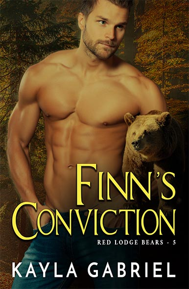 book cover for Finn's Conviction by Kayla Gabriel