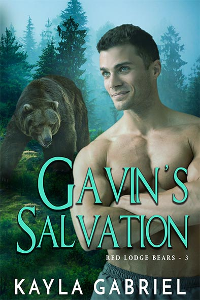 book cover for Gavin's Salvation by Kayla Gabriel